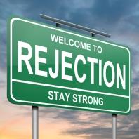 Rejection concept.