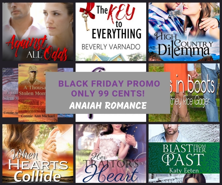 Black Friday Weekend Sale: Anaiah Press Romance