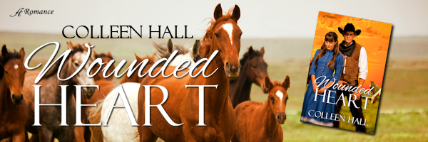 Cover Reveal: Wounded Heart by ColleenHall