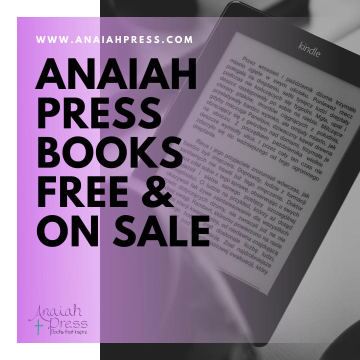 Anaiah's Weekly BookSale!