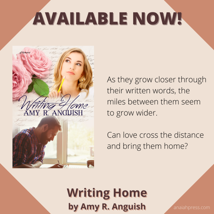 Release Day: Writing Home