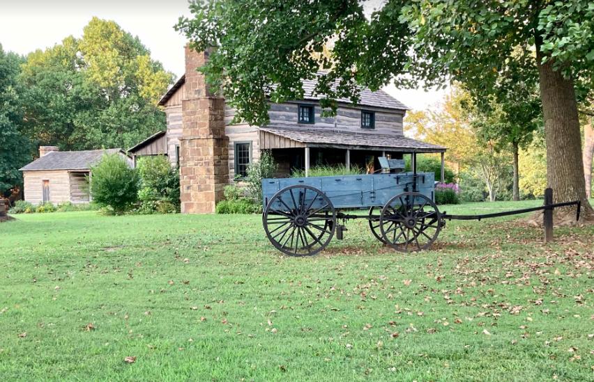 Prairie Grove Battlefield State Park in Prairie Grove, Arkansas.